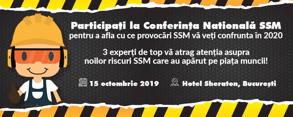 conferinta nationala de ssm octombrie sheraton